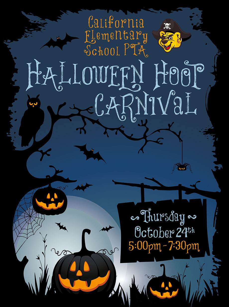 Halloween Hoot Carnival Poster