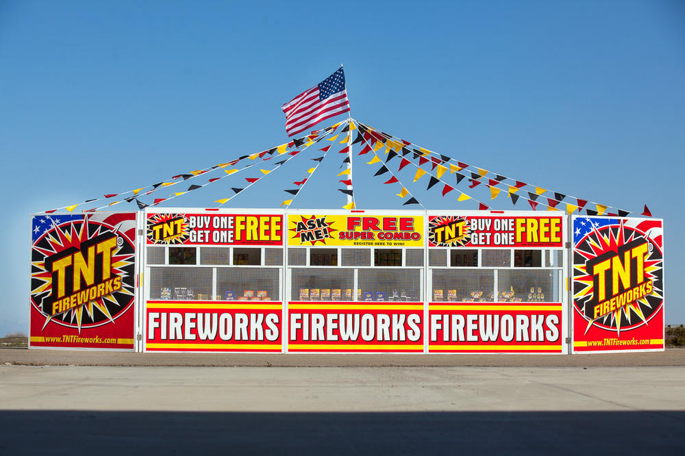 TNT Fireworks Booth