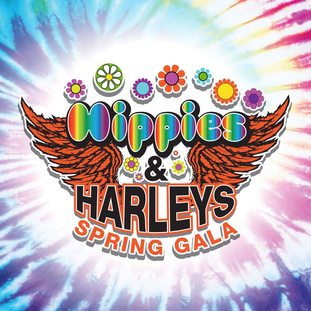 Hippies   Harleys Spring Gala Logo