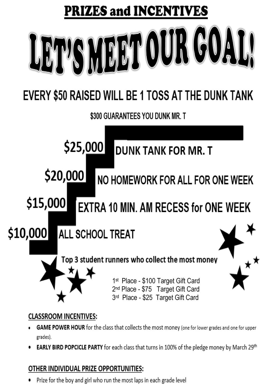 Jog-a-thon Prizes   Incentives flyer